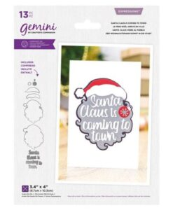 Gemini Expressions Die – Santa Claus Is Coming To Town