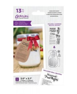 Santa's Kitchen Stamp & Die - Baking Spirits Bright