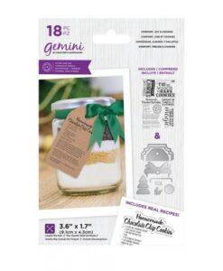 Santa's Kitchen Stamp & Die - Comfort, Joy & Cookies