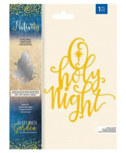 Nativity Metal Die - O Holy Night