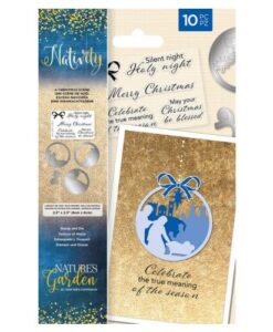 Nativity Stamp & Die - A Christmas Scene