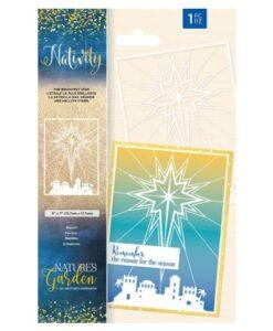Nativity Stencil - The Brightest Star