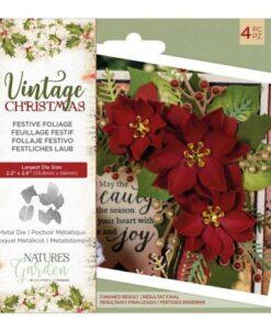 Vintage Christmas Snijmal - Festive Foliage
