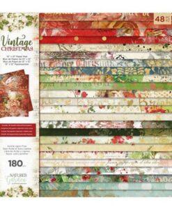 Vintage Christmas - 30 x 30 cm Paper Pad