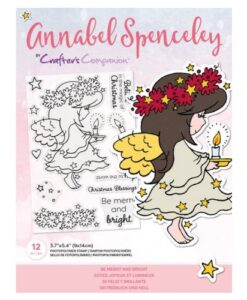 Annabel Spenceley-Clearstamp - Be Merry and Bright