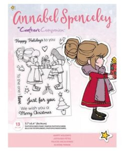 Annabel Spenceley-Clearstamp - Happy Holidays