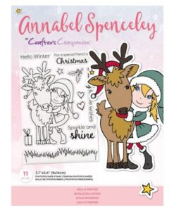 Annabel Spenceley-Clearstamp - Hello Winter