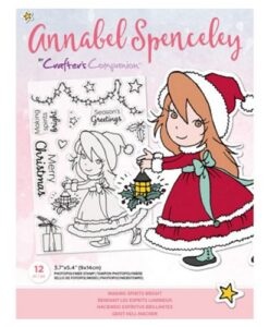 Annabel Spenceley-Clearstamp - Making Spirits Bright