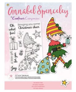 Annabel Spenceley-Clearstamp - Oh What Fun