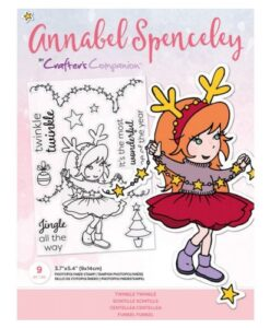 Annabel Spenceley-Clearstamp - Twinkle Twinkle