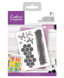 CC - Clearstamp - Butterflies & Bees