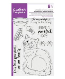 CC - Clearstamp - A Purrfect Day
