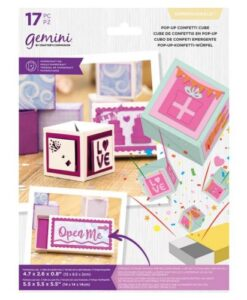 Gemini Dimensionals Die - Pop-Up Confetti Cube