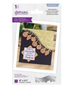 Gemini Edge'ables Die – Ornate Baubles