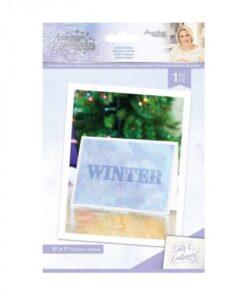 Glittering Snowflakes - Cut&Emboss Folder - Hello Winter