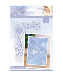 Glittering Snowflakes - Embossing Folder - Touch of Winter