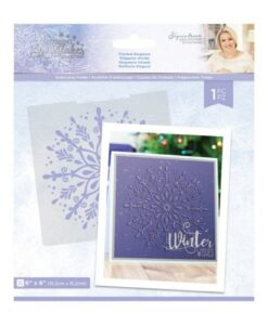 Glittering Snowflakes - Embossing Folder - Frosted Elegance