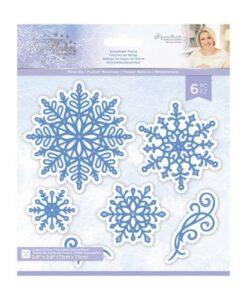 Glittering Snowflakes Metal Die - Snowflake Flurry