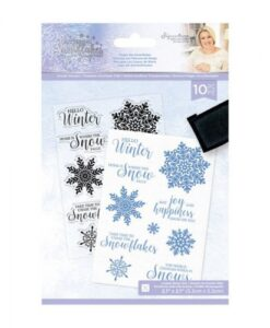 Glittering Snowflakes Clearstamp - Chase The Snowflakes