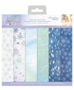 Glittering Snowflakes - Vellum Pad 30 x30 cm