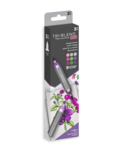 Spectrum Noir-TriBlend-Brush Marker - Cottage Garden