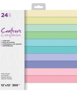 CC-Paper Pad - Pretty Pastels 30 x 30 cm