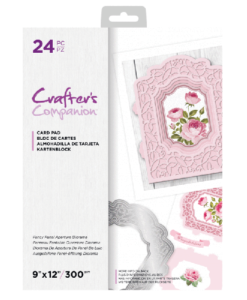 C-Paper Pad - Fancy Panel Aperture Diorama 23 x 30 cm