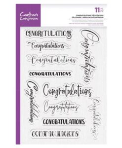 CC – Clearstamp – Congratulations