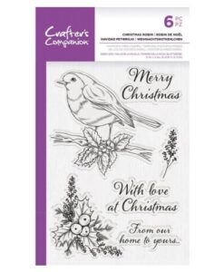 CC – Clearstamp – Christmas Robin