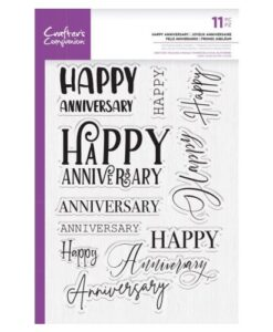 CC – Clearstamp – Happy Anniversary