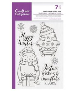 CC – Clearstamp – Happy Winter