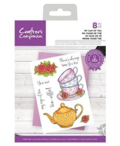 CC- Clearstamp - My Cupe of Tea