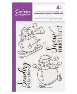 CC – Clearstamp – Snow Much Fun