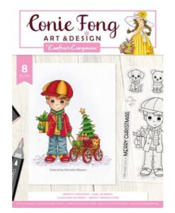 Conie Fong Clearstamp - Benny's Christmas