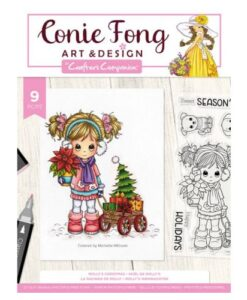 Conie Fong Clearstamp - Molly's Christmas