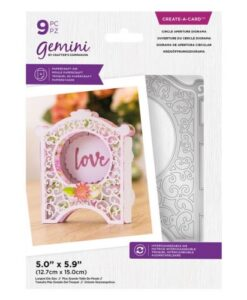 Gemini Create-a-Card Die - Circle Aperture Diorama