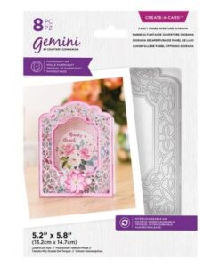 Gemini Create-a-Card Die - Fancy Panel Aperture Diorama