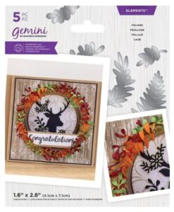 Gemini Elements - Foliage - Flower Foam Die