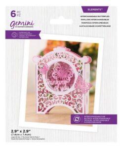 Gemini-Elements Verwisselbare Snijmal - Butterflies