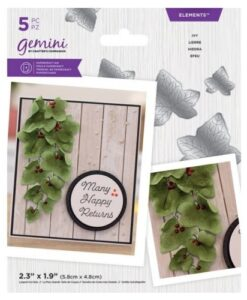 Gemini Elements - Ivy - Flower Foam Die
