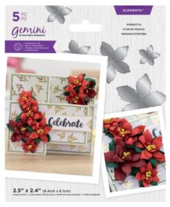 Gemini Elements - Poinsettia - Flower Foam Die