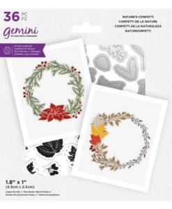 Gemini Stamp & Die - Natures Confetti