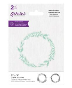 Gemini Stamp & Die - Primitive Wreath