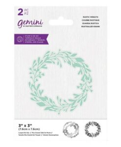 Gemini Stamp & Die - Rustic Wreath