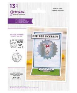 Gemini Stamp & Die - Twirling Bunny
