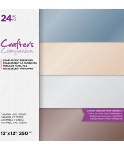 CC- Pearl Pad - Caramel and Cream 30x30 cm