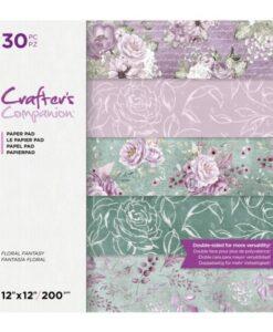 CC- Paper Pad - Floral Fantasie 30x30 cm