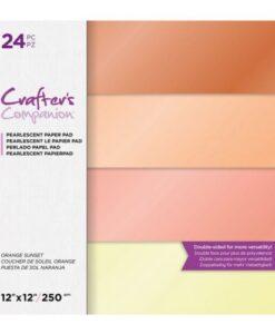 CC- Pearl Pad - Orange Sunset 30x30 cm