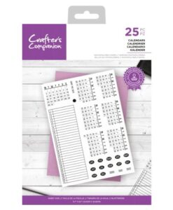 CC - Clearstamp - Calendars