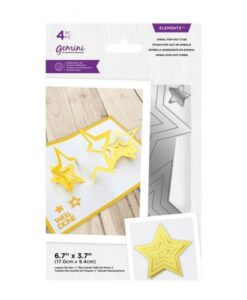 Gemini-Elements Spiral Pop-Out- Star